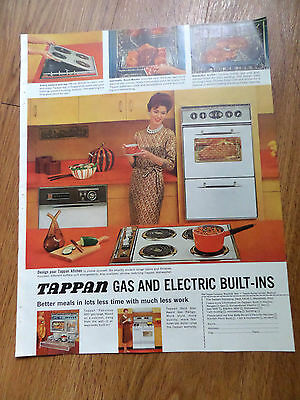 1961 Tappan Gas & Electric Built-Ins Range Ad