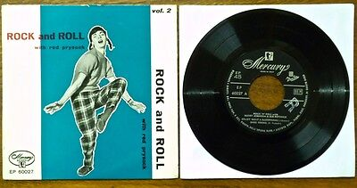 Rock and roll with RED PRYSOCK Buddy Johnson Buddy Morrow EP ITALY Mercury 60027