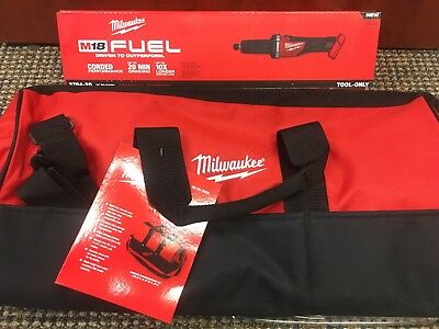 M18 1/4'' Die Grinder (Tool Only) Milwaukee 2784-20 New TOOL AND BAG COMBO