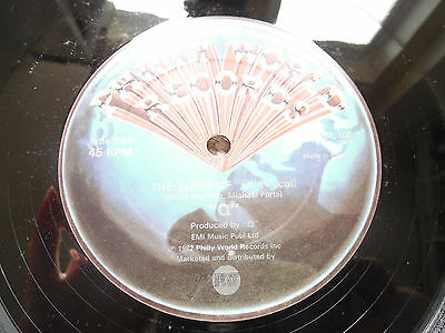 """Q - The Voice Of Q - Classic Electrofunk - Philly World - 12"""" - 1982"""