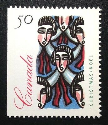 Canada #1534as Left MNH, Christmas Carolling Booklet Stamp 1994