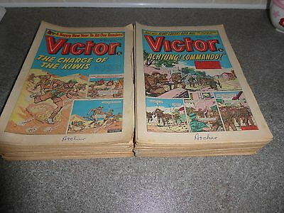 Victor Comics 1974 Full Year 51 Issues