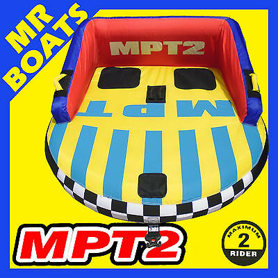 SKI TUBE MPT2 Large 1-2 Person Top Quality Ski Biscuit 65 Inch 165 cm FREE POST