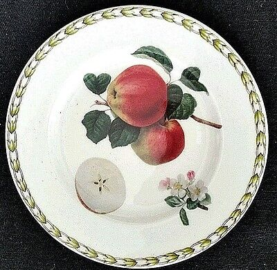Queen's Bone China Royal Horticultural Society Fruit Plate Apple