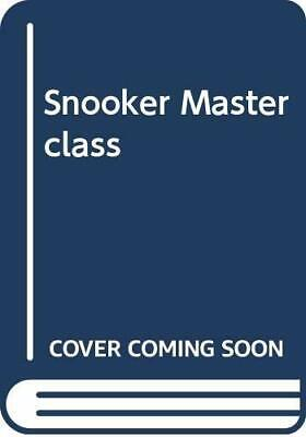Jimmy White's Snooker Masterclass by Jimmy White Hardback Book The Cheap Fast