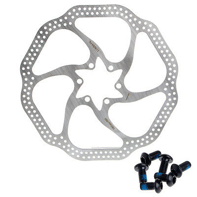 180mm Cycling Bicycle MTB Mountain Bike Stainless Steel Brake Disc Rotor 6 Bolts