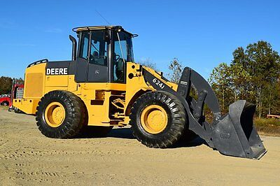 2006 John Deere 624J Wheel Loaders - W5850 Wheel Loaders