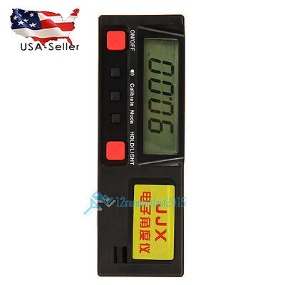 360° Digital Protractor LCD display Inclinometer Angle Meter with Magnetic Base