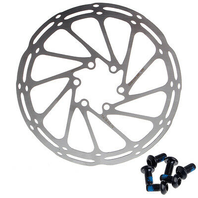 Stainless 160mm 6 Bolts Brake Disc Rotors Road Mountain Bicycle Bike Cycling MTB