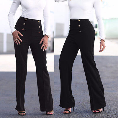 Black women's Skinny Long Trousers casual pants harem fashion slim Comfy pants