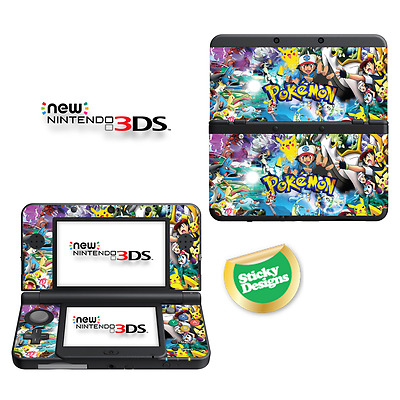 Pokémon Vinyl Skin Sticker for NEW Nintendo 3DS (with C Stick)