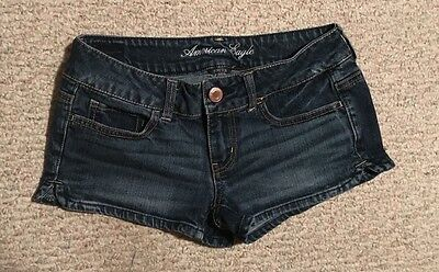 Women's Size 2 American Eagle Outfitters Stretch Denim Jean Short Shorts