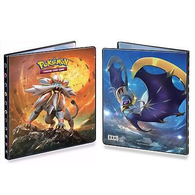 Ultra Pro Pokemon Sun and Moon 9 Pocket Portfolio Album Binder Solgeleo Lunala