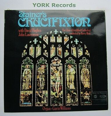 MFP 2125 - STAINER - Crucifixion HUGHES / LAWRENSON - Excellent Con LP Record