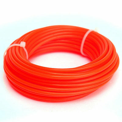 SALE~15M Strimmer Line Nylon Cord Wire Round String Petrol Grass Trimmer #RED#