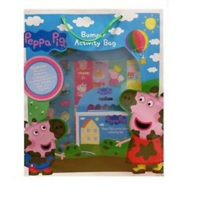 Peppa Pig Bumper Activity Bag NEW