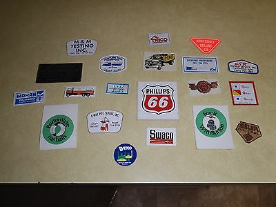 "Vintage Oilfield Stickers  From Early  80""s"