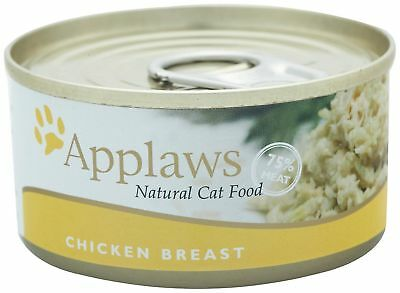 Applaws Wet Cat Food With Natural Chicken Breast 24 x 70g Tins