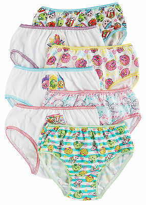 Shopkins Little Girls 7-pk. Brief Panties