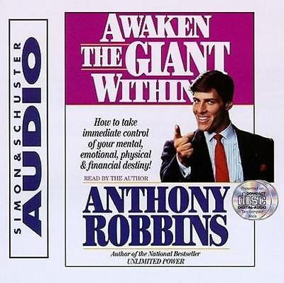 NEW Awaken the Giant within By Anthony Robbins Audio CD Free Shipping