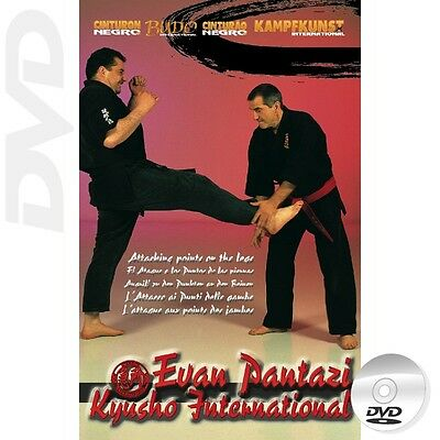 DVD Kyusho Jitsu Points on the Legs