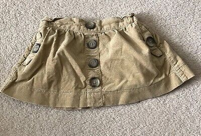 Baby Girl Next Cord Skirt 9-12 Months