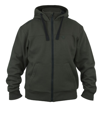 Fox Green Black Heavy Lined Hoodie - All Sizes