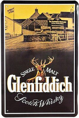 Glenfiddich Scotch Whisky blechschild