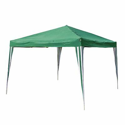 3x3M Gazebo Pop Up Tent Garden Canopy Party Marquee Outdoor Patio Shelter, Green