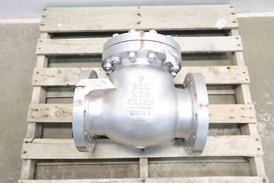 New Crane 159Xu 6 In Steel 300 Flanged Swing Gate Check Valve D562415