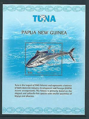 Papua New Guinea 2017 Tuna Fishery Souvenir Sheet Unmounted Mint, Mnh