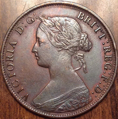 1861 New Brunswick Large 1 Cent In Best Of Circulated Condition