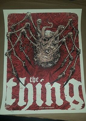 The Thing - Limited Edition Screen Print by Godmachine nt Mondo
