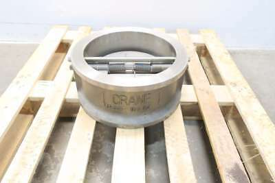 New Crane G15CVF Duo-chek Ii 12in 150 Stainless Non-slam Check Valve