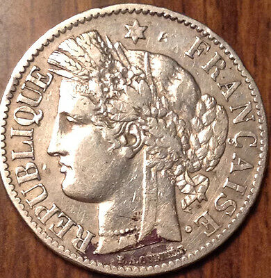 1887 A France 2 Francs In Beautiful High Grade !