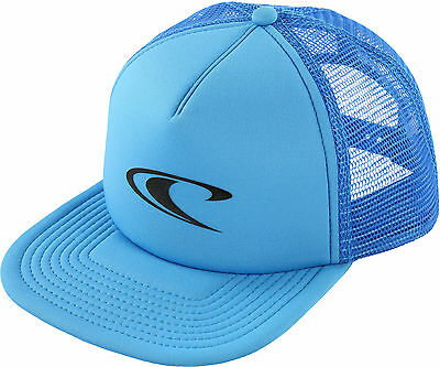 O'Neill Big Boys Party Wave Trucker Hat One Size Neon blue