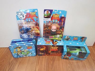 5 pc Original Toy Story Colletors Lot Slinky, RC Buggy,Buzz, Baby Face 23538