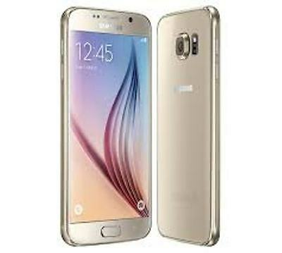 Samsung Galaxy S6 Gold 32GB - Brand New Factory Unlocked 4G- Sealed Pack