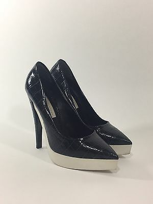 Stella McCartney Pointed-Toe Platform Pumps, Size 8.5 US - 38 1/2 EU