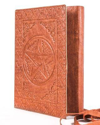 Gothic Goth Occult Pagan Wiccan Pentacle Cotton Paper Journal Diary
