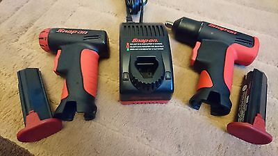 Snap-On Cordless Impact Ct561 W/battery And Screwgun Cts561Cls W/battery,charger