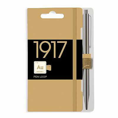 Leuchtturm1917 METALLIC EDITION Pen Loop / Stylus Holder - Gold