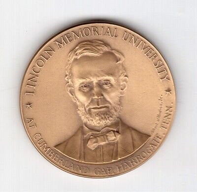 1972 Lincoln Memorial University Cumberland Gap Harrogate Tennessee Bronze Medal