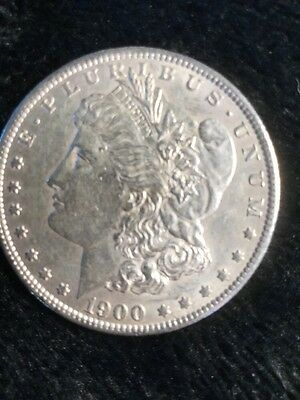 1900-o Choice  Morgan Silver Dollar! Free Shipping!