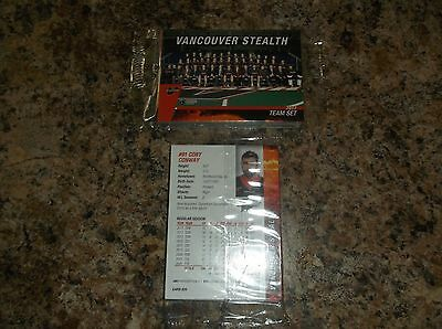 2017 Vancouver Stealth Nll Factory Sealed Team Set National Lacrosse League Lax