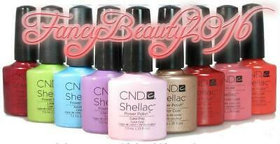 Authentic***cnd Shellac Gel Polish 0.25Oz *** Pick Any Color! *** $8.99