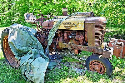 Farmall Farm International Harvester Tractor, Model M approx. 1952 or 53