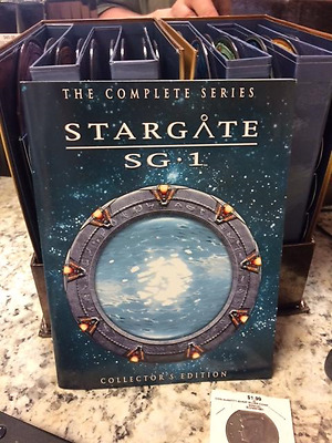 Stargate SG-1 - The Complete Series Collection (DVD, 2007, 54-Disc Set, Commemor