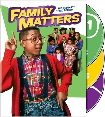Family Matters: The Complete Third Season [New DVD] 3 Pack