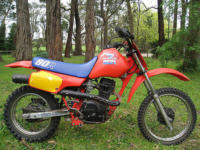 VMX HONDA XR80R 1986 in original condition